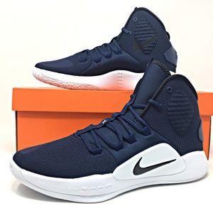 Nike Hyperdunk X TB Mens Basketball Shoes Navy